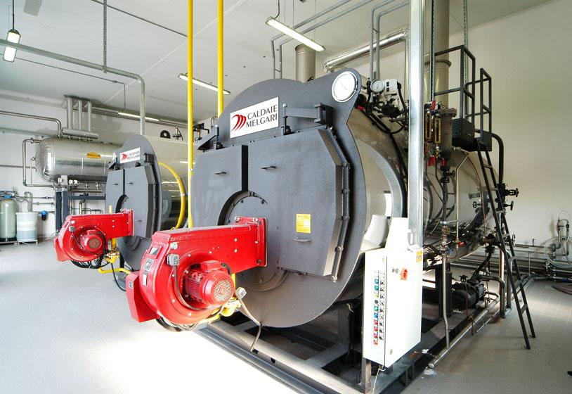 caldaie melgari generatori di vapore e acqua